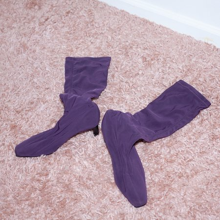 Kintsugi Boots - Purple