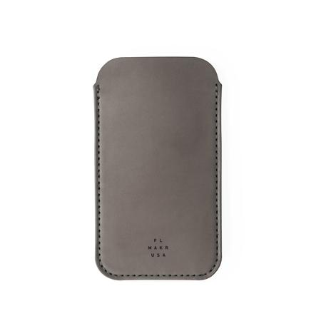 UNISEX MAKR iPhone Sleeve CASE - Charcoal Horween
