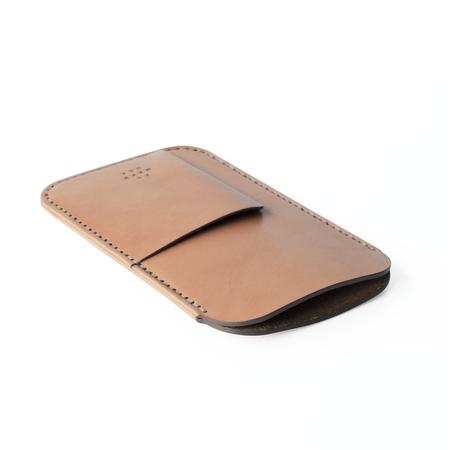 UNISEX MAKR iPhone Card Sleeve Case - Tobacco Horween