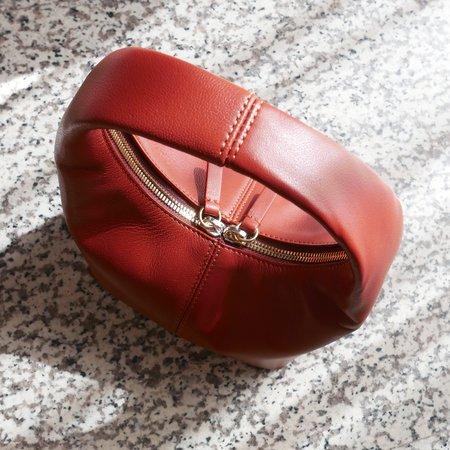 Frenzlauer Nappa Mini Panier Bag - Brandy