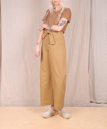 Micaela Greg Knotted Sailor Pant - Golden