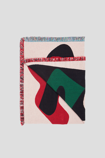 Slowdown Studio Sakamoto Throw Blanket
