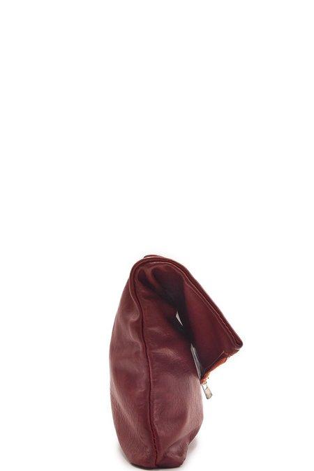 Guidi MR05 Handle Clutch Bag - Red