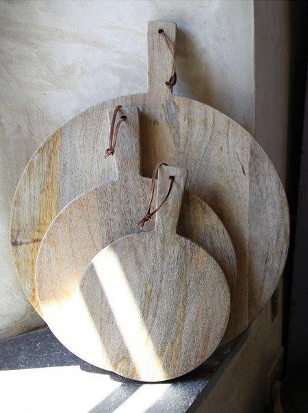 Nkuku Large Mango Wood Pizza Board