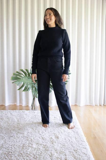 Les Coyotes de Paris Norah Pullover Sweater in Noir