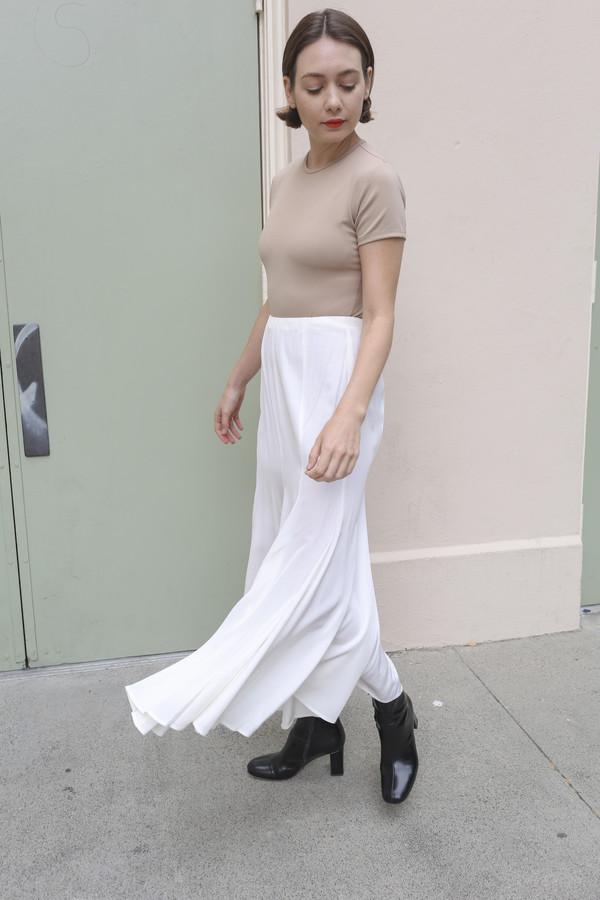 NONNA Vintage Norma Kamali White Skirt