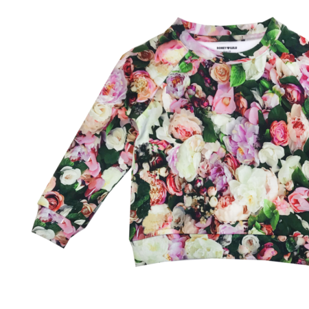 Unisex Romey Loves Lulu Peonies Sweatshirt