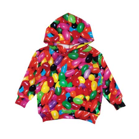 Kids Romey Loves Lulu Jelly Beans Hoodie