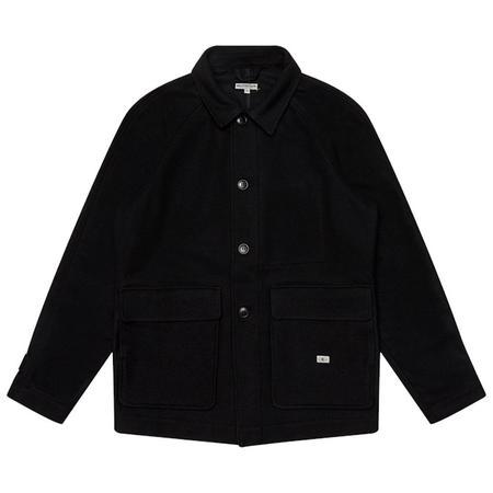 Knickerbocker Raglan Country Coat - Black