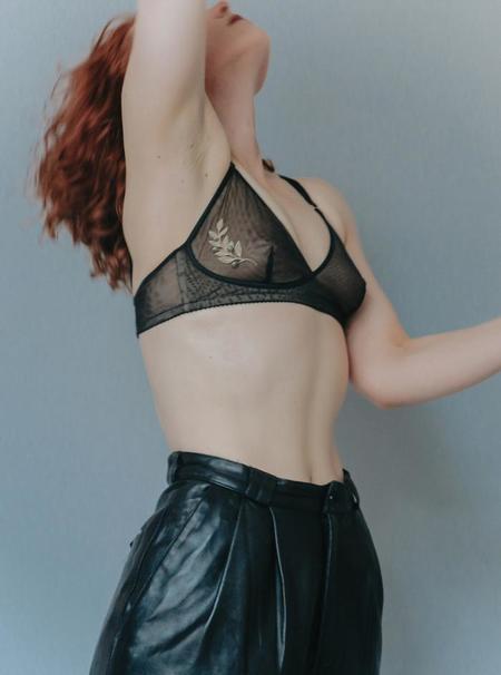 Lorette Lingerie Olympia Bra - Black