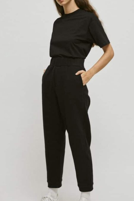 Unisex Rita Row Vela Organic Cotton Sweatpants - Black