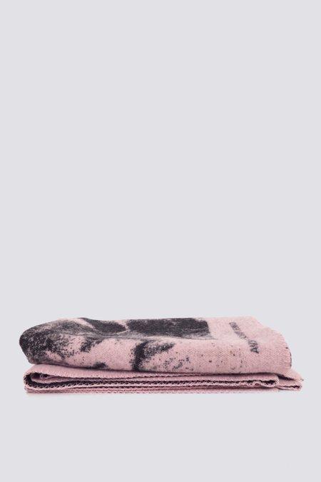 Normann Copenhagen Matelli Throw Blanket - Light Pink