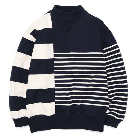 Nanamica Nanamican Long Sleeve Sweater - Navy