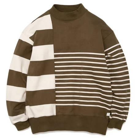 Nanamica Nanamican Long Sleeve Sweater - Olive
