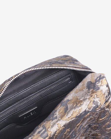 HVISK AVER LEOPARD bag - SILVER/BROWN MULTI