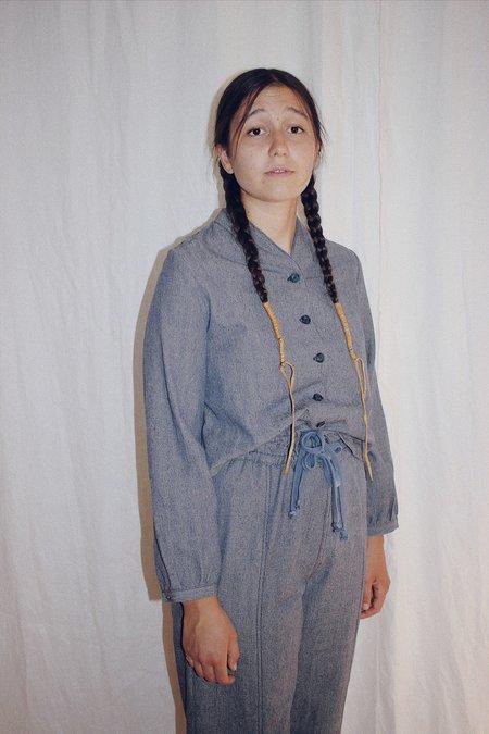 Kordal stella blouse - chambray