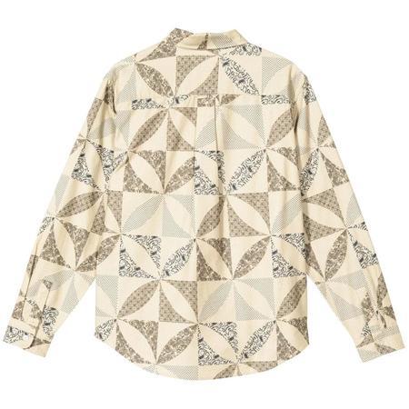 Stussy Quilt Pattern Shirt - Sand