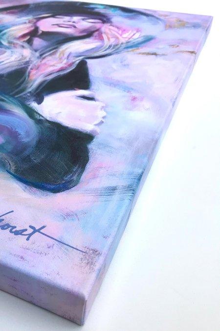 "Camille Selhorst Golden Hour Print On Canvas 24"" X 36"""