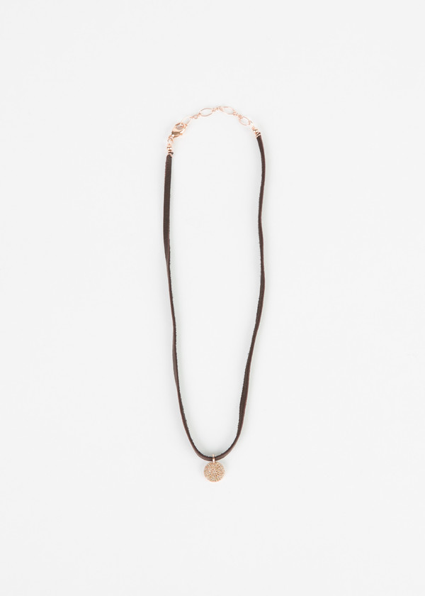 Jewels by Piper Diamond Disc Choker Necklace