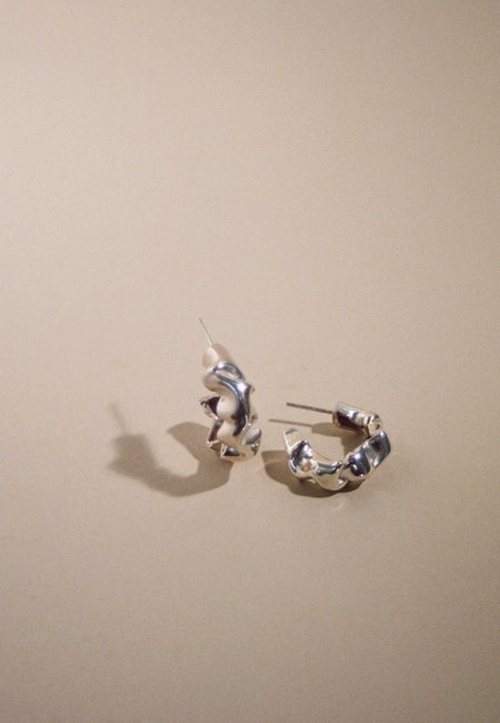 MARS Catana Hoops - Sterling Silver