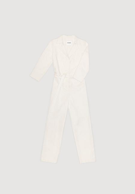OK KINO Upcycled denim boilersuit - White