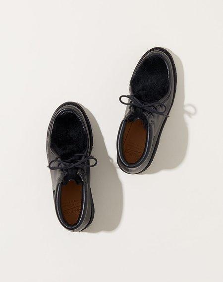 Paraboot Milla Lapin Shoe - Lisse Noir