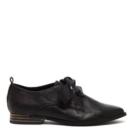 Mabel and Moss Oxford Shoes - Slate Black