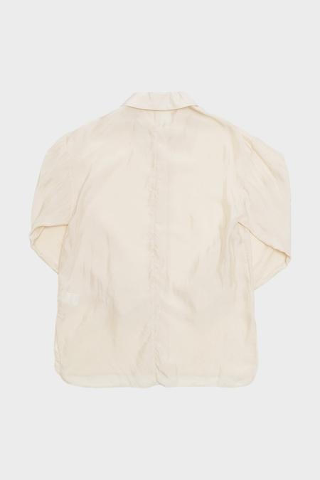 AMOMENTO Wide Collar Blouse