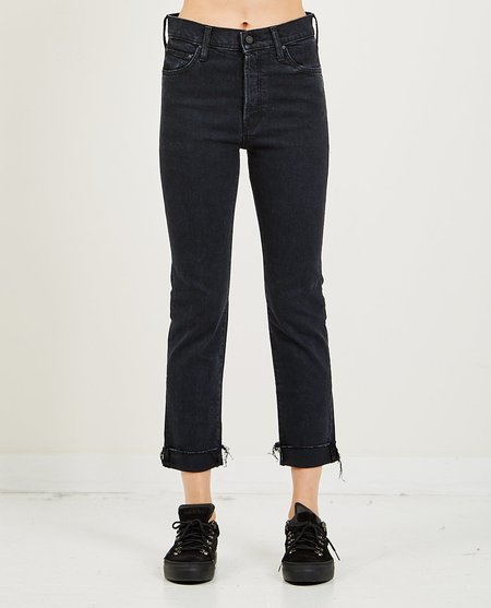 Mother Denim The Scrapper Cuff Ankle Fray Jeans - Who's Sorry Now