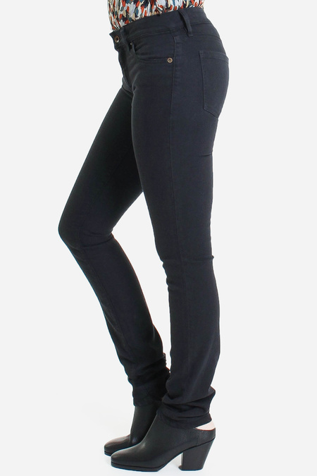 Raleigh Denim Workshop Surry mid rise skinny in midnight
