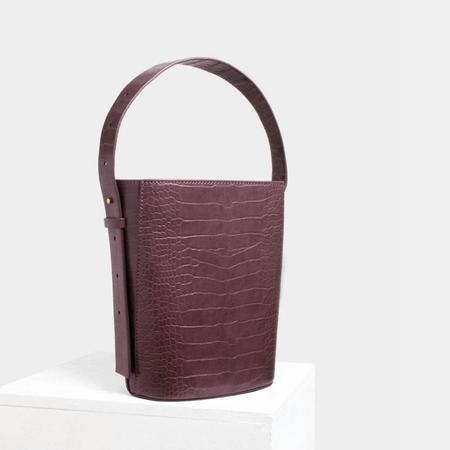Siizu Sophia Bucket Bag - Mauve