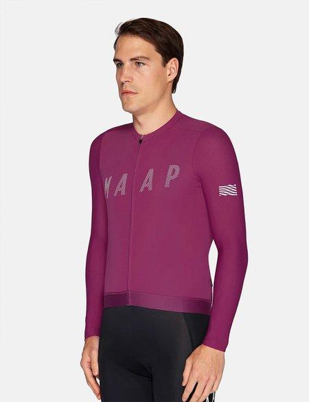 MAAP Echo Pro Base L/S Jersey - Grape