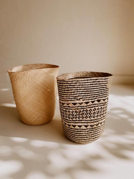 Village Thrive Praya Basket - Black Motif