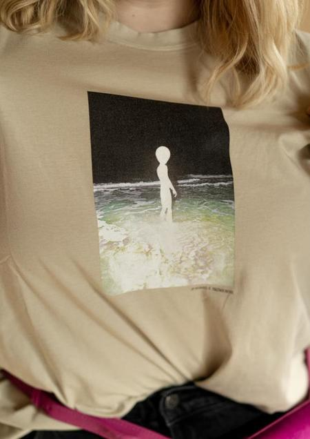 UNISEX Paloma Wool Souvenir Bonino top - natural