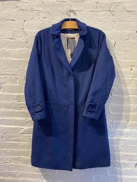 Yoshi Kondo Wool Coat - Blue