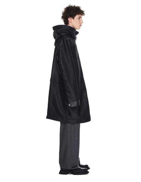 Isaac Sellam Elongated Hooded Jacket - Black