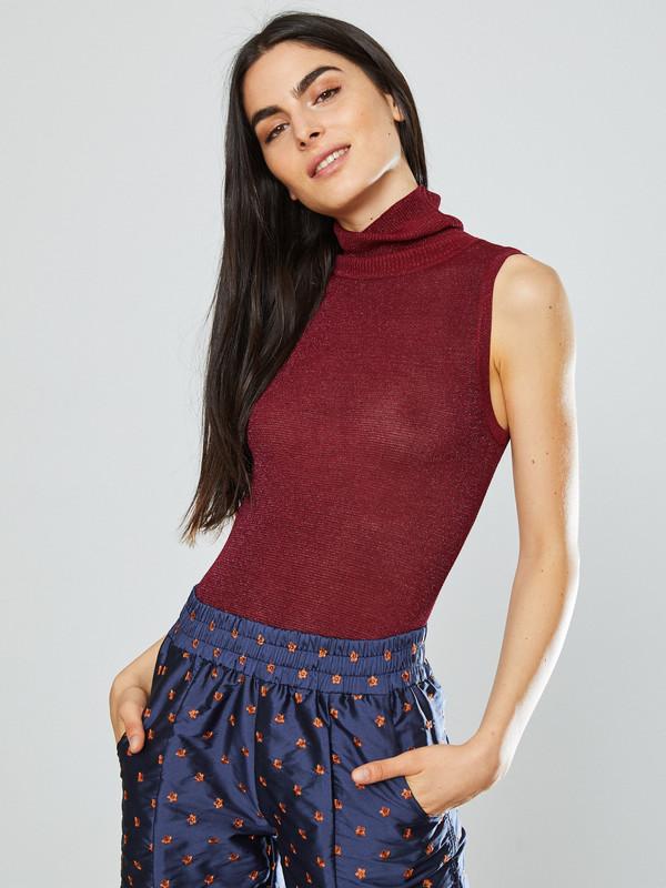 Nikki Chasin Brandy Sparkle Turtleneck