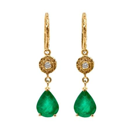 Octavia Elizabeth Fine Jewelry Pear Lauren Earrings