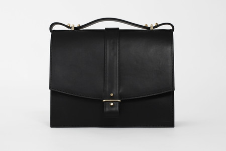 Haerfest Agnes Satchel in Black