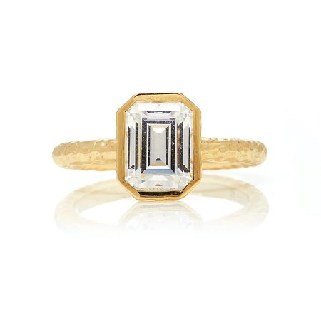 The Beatrice Ring - Silver/14k yellow gold