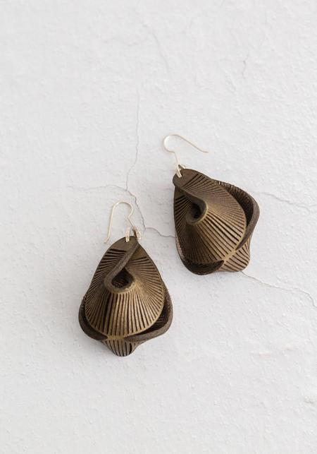 Oropopo Tiny Cave Grotto Earrings
