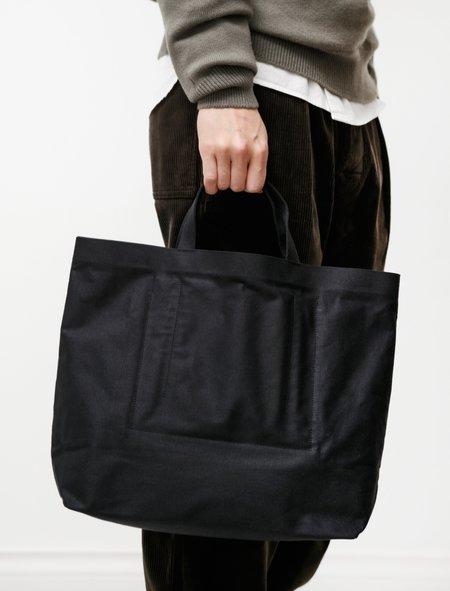 Isaac Reina 956 Highway Pilot Bag - Canvas Black