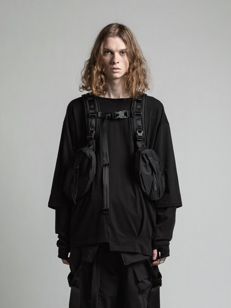 The Viridi-Anne Mall System Backpack - Black