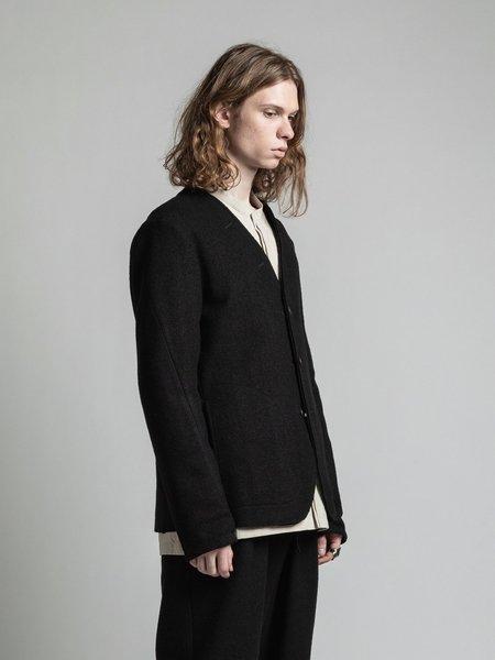 The Viridi-Anne Wool Reversible Jacket - Black