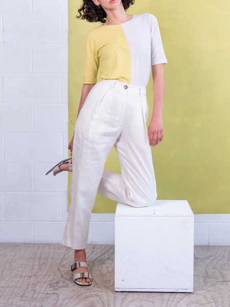 FME Apparel The Classic Stellar Pant - Ivory