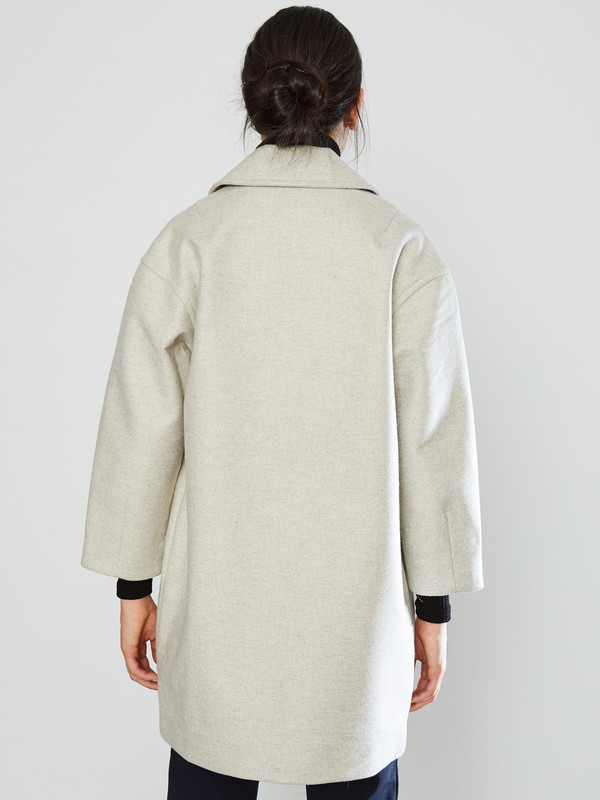 YMC Neoprene Wool Coat