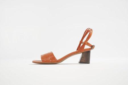 Mari Giudicelli Vitta Sandal - Tangerine