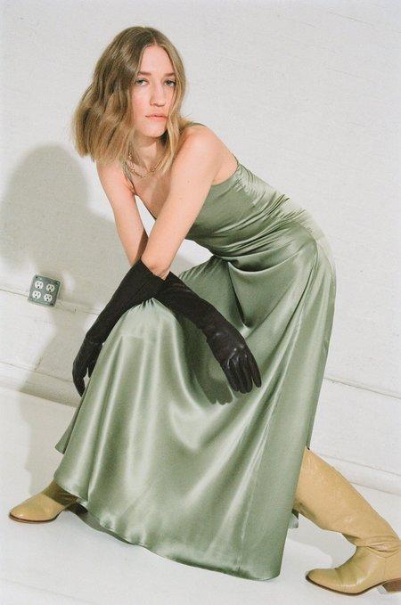 Veda FRANKIE SILK DRESS - SEAFOAM