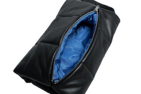 Clyde Lambskin Muff Bag