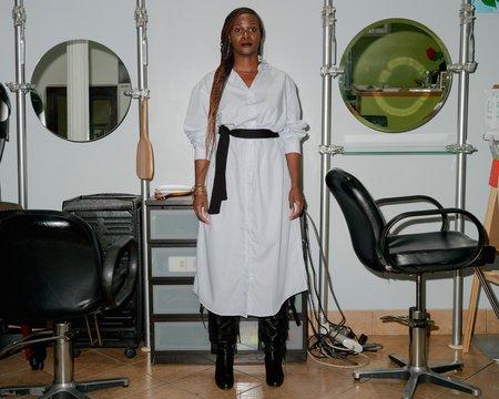 Unisex Baserange Ole Poplin Shirt Dress